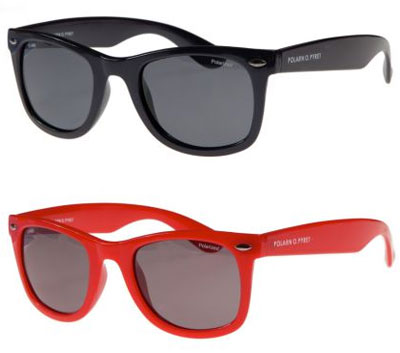Ray-Ban-inspired sunglasses for kids by Polarn O. Pyret