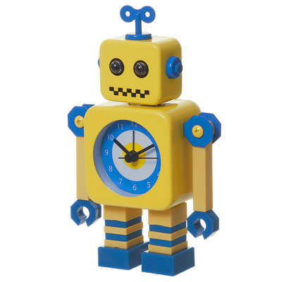 Wind-up Robot Alarm Clock