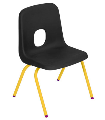 Hille Series E Chair for kids by Robin Day