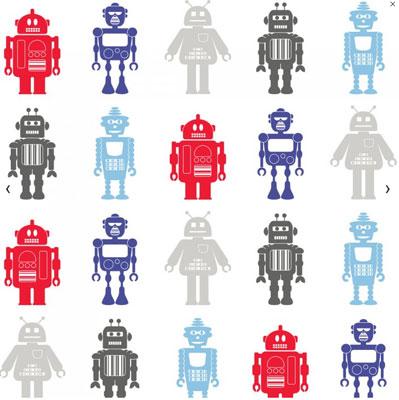 Hoopla Robots Wallpaper