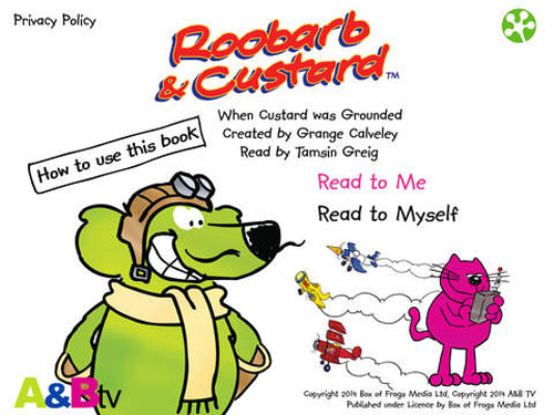 App watch: Roobarb & Custard: When Custard was Grounded