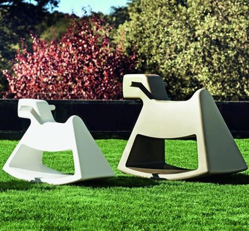 Rosinante Rocking Chair by Eero Aarnio for Vondom