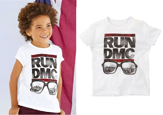 Run DMC t-shirt for kids at Next