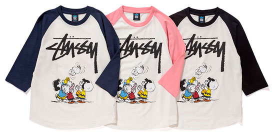 Peanuts x Stussy Kids autumn 2016 collection now available
