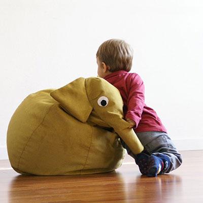 Il Saccotto handmade animal beanbags