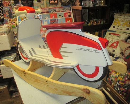 One-off classic: Custom-made rocking Lambretta SX scooter