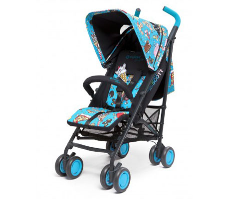 Cybex x Jeremy Scott strollers and car seats