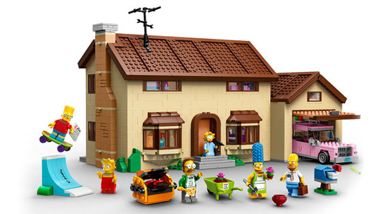 Official images of The Simpsons Lego set now online
