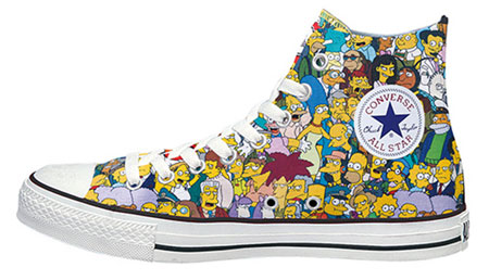 The Simpsons x Converse Chuck Taylor All Star Hi