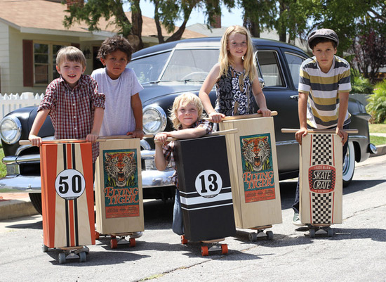 Skate Crate - an American classic returns to the streets