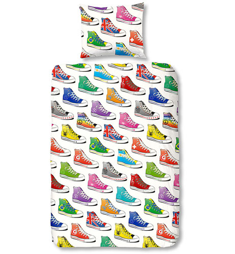 Sneakers duvet set for kids by The Lyndon Company