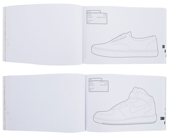 The Sneaker Colouring Book by Daniel Jarosch and Henrik Klingel