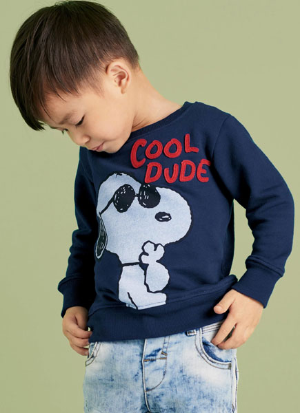 retro, vintage, classic, design, fashion, style, peanuts, snoopy, sweatshirt, Next