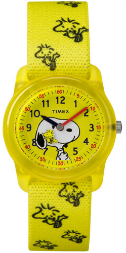 Timex Analog x Peanuts Snoopy Woodstock watch for kids