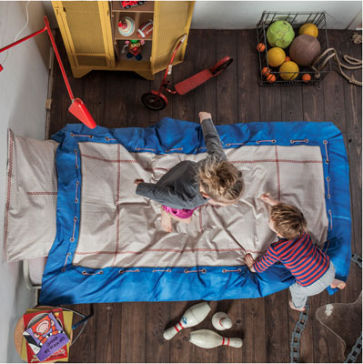 Trampoline duvet set by Snurk