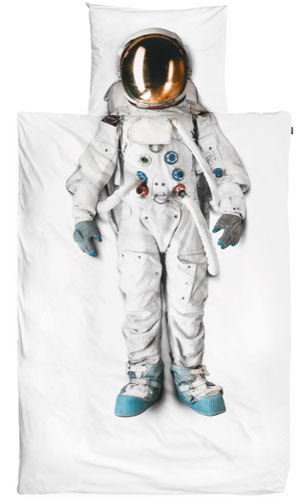 Astronaut bed linen by Snurk
