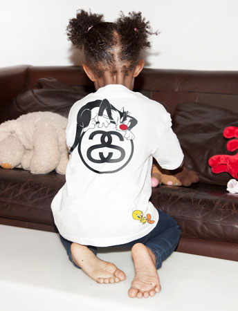 Looney Tunes x Stussy Kids 2014 collection