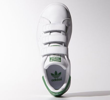 Adidas reissues Stan Smith trainers for kids - with velcro fastening