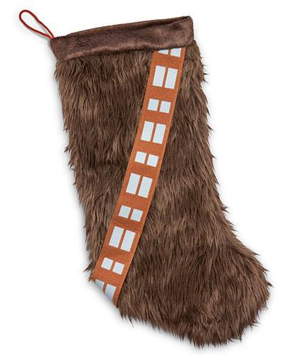 Star Wars Chewbacca Christmas stocking at ThinkGeek