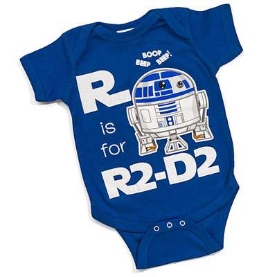 Star Wars baby grows