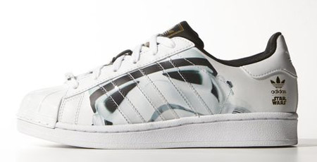 Adidas Superstar Star Wars Stormtrooper trainers for kids