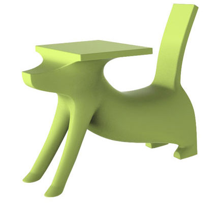 Philippe Starck-designed Le Chien Savant desk with chair for Magis