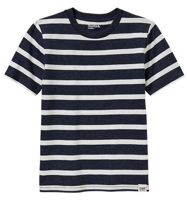 Striped crew neck t-shirts at Gap