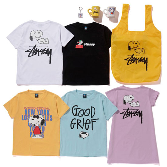 Stussy x Snoopy collection for kids