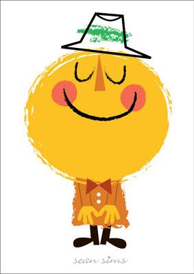 Mr Sunshine print by Sean Sims