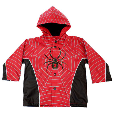 Kids' Superhero Raincoats