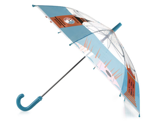 Andy Tuohy London umbrella for kids at the Tate Shop