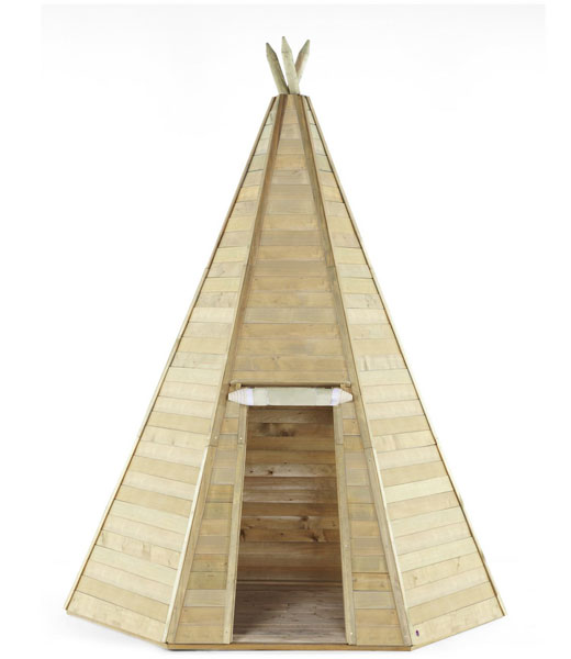 Outdoor play: Plum Wooden Teepees