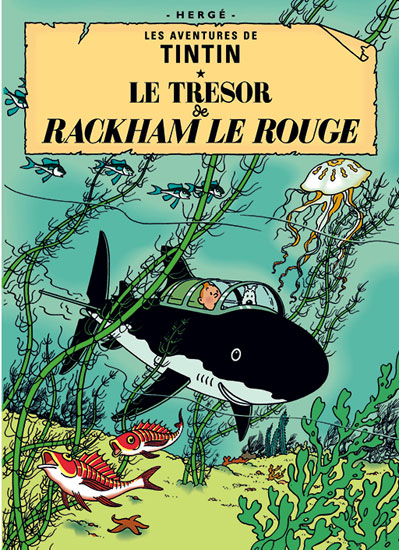 Classics for kids: Tintin book cover posters