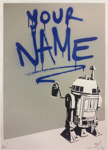 Personalise some street art: R2tag2 - VIP By RYCA