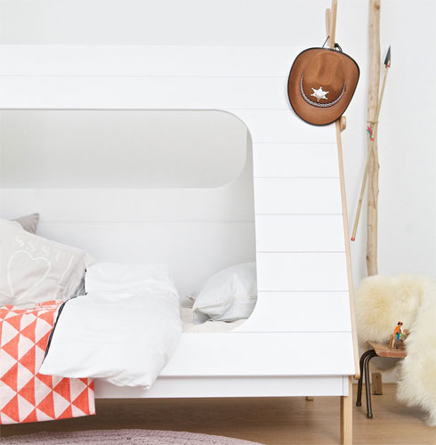 Teepee cabin bed by Woood