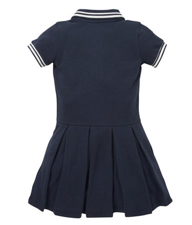Fred Perry-style polo tennis dress at Mothercare
