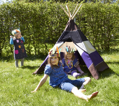 HippieTipi play tent for kids by RoomMate