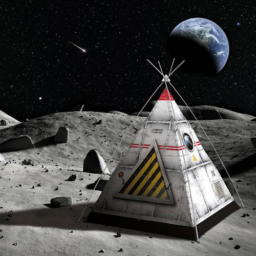 The Blast Off Tent by FieldCandy