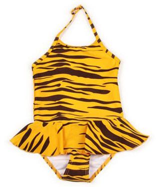 Tiger Swimsuit from Mini Rodini