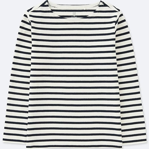New Breton tops for kids at Uniqlo