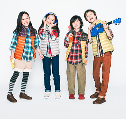 Uniqlo Kids range hits the UK this month