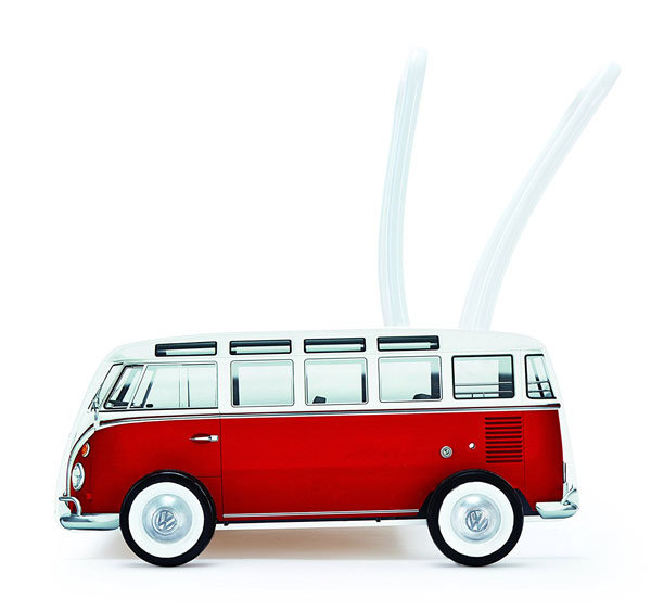 Early wheels: Hape Volkswagen Camper Van Walker
