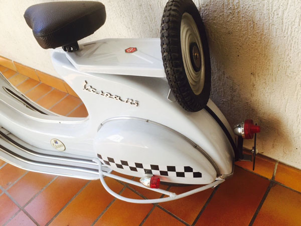 Fully restored vintage pedal Vespa for kids on eBay