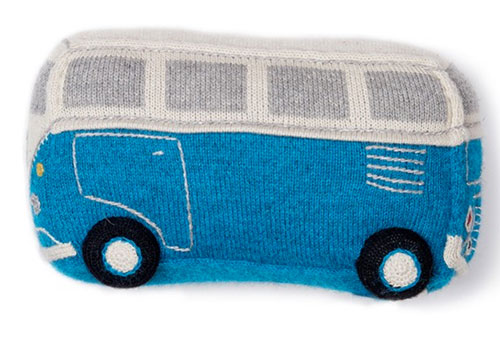 VW Bug and VW Bus soft toys by Oeuf NYC
