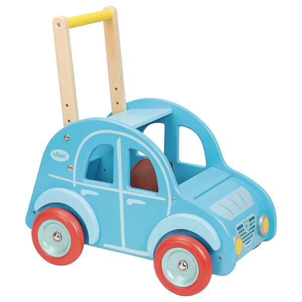 Vilac wooden 2CV push along walker