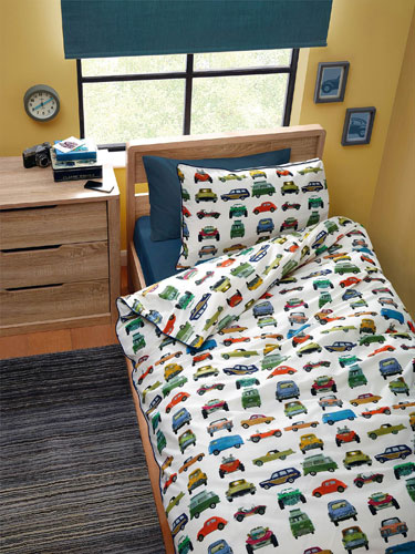 Vintage Transport bedding set at Next Home