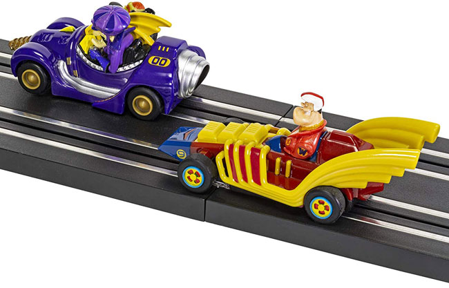 Go retro with the Scalextric Wacky Races set