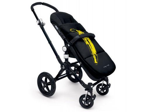 Bugaboo x Andy Warhol Banana stroller