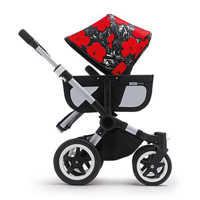 Bugaboo x Andy Warhol pushchair collection