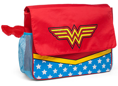 Wonder Woman changing bag